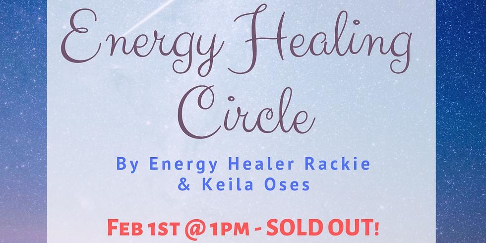 Energy Healing Circle 2/15