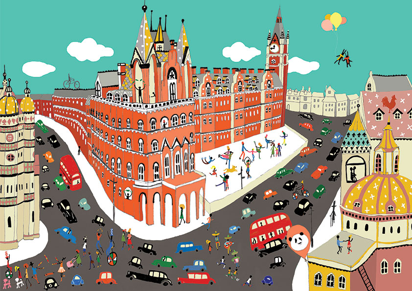 London City illustration