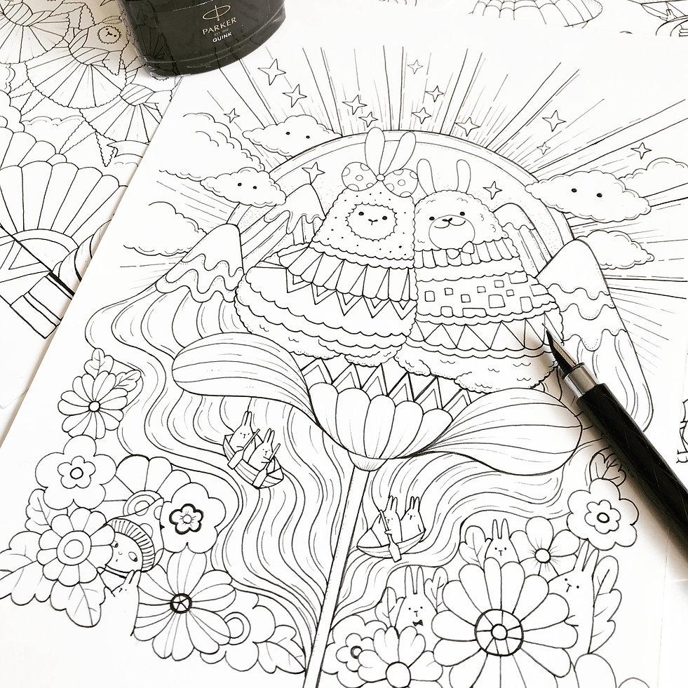 a-million-llamas-flower-sun.jpg