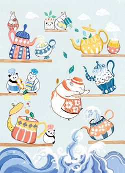 Bears' Afternoon Tea Party