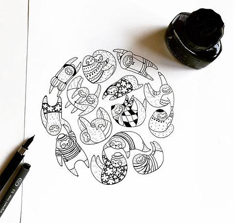 A-Million-Sloths-pattern-ink.jpg