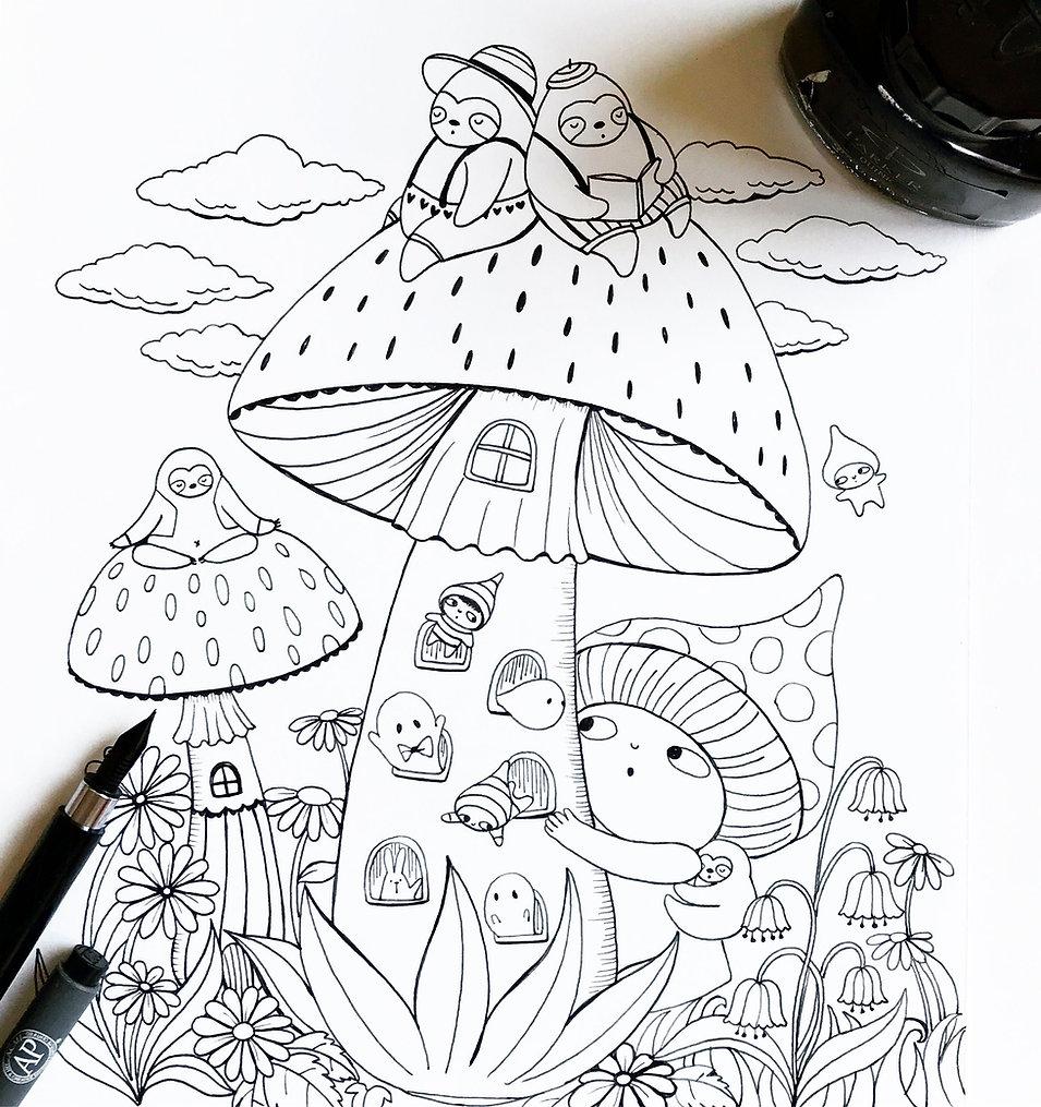 A-million-Sloths--mushroom-house.jpg