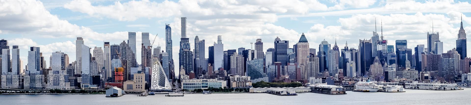 Panorama of New York City, Manhatten