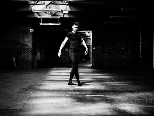 Fotoshooting mit Ballett-Tänzer Micha