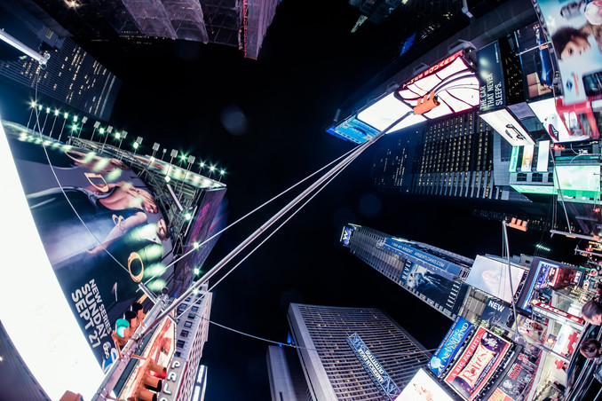 New York City, Manhatten, Time Square