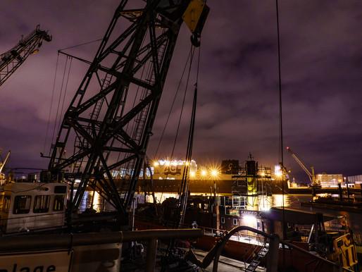 Fotoreportage im Hamburger Hafen