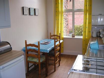 Apartment 8 - Kitchen & Table