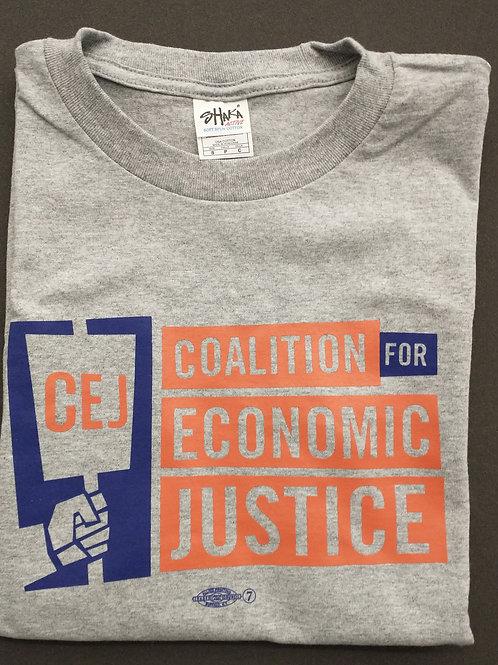 CEJ T-shirt: Grey