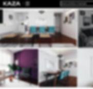 Publicação do apartamento Ipê pelo site da Revista Kaza.