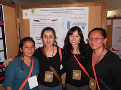 Reyna, Jimena, Carolina y Judith