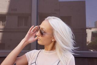 Silver Hair to Platinum Blonde