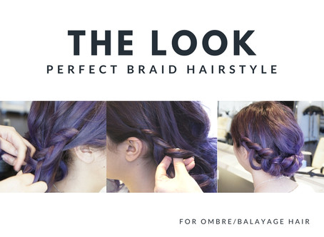 Perfect Braid Hairstyle For Balayage Ombre Hair