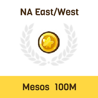 MapleStory2 NA-East/West Mesos 100M