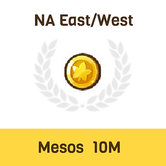 MapleStory2 NA-East/West Mesos 10M