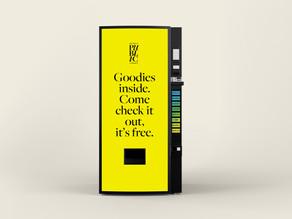 Detroit Public Library Vending Machine