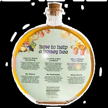 Honey Packaging Back