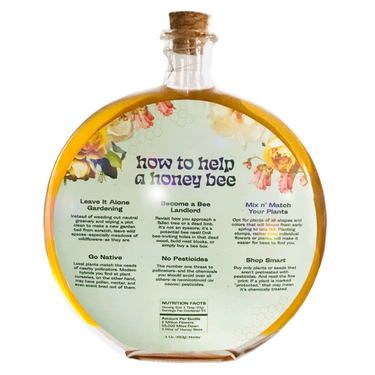 Honey Packaging Back