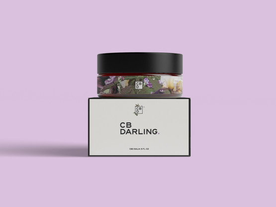 CB Darling. Balm Packaging