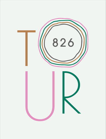 826 Tour Identity Mark