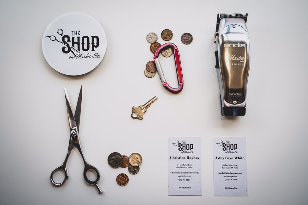 Items at The Shop