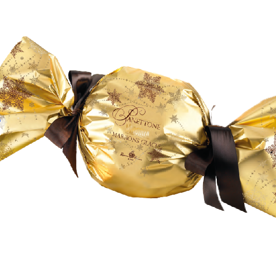 Panettone marrons glacés