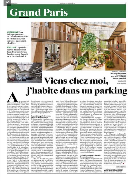 Lauréats de Réinventer Paris II, 138 logements + 3 500m² d'activités + 1 300m² de ferme urbaine
