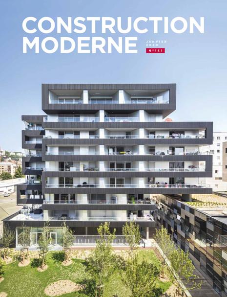 L'opération Lyon Confluence en couverture de Construction Moderne n°161- Janvier 2020
