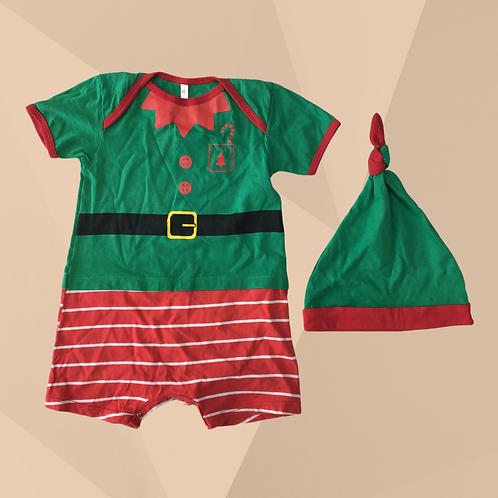 Conjunto Ajudante do Papai Noel | Veste 2 anos