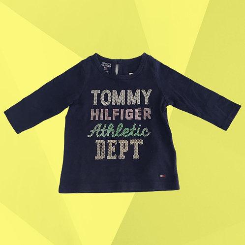 Blusa Tommy Hilfiger | Veste 3 a 6 meses