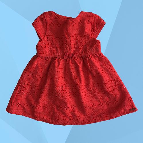 Vestido com Calcinha Animê | Veste 3 a 6 meses