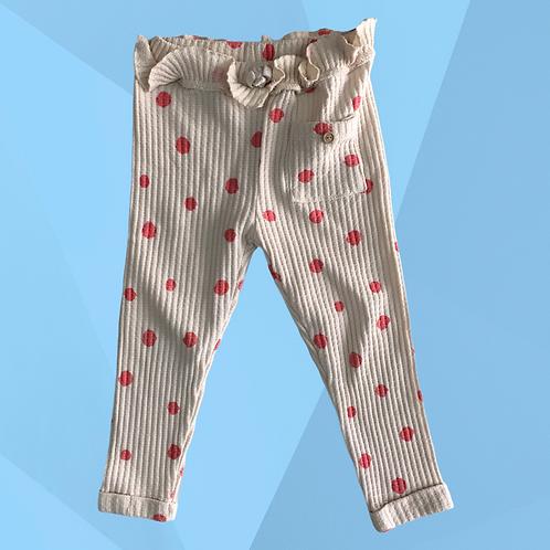 Calça de Algodão Zara | Veste 2 a 3 anos