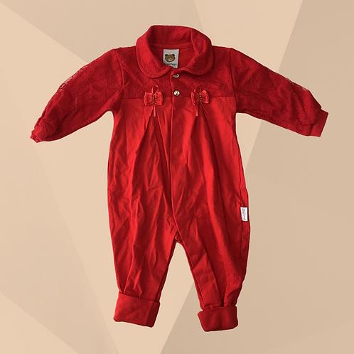 Macacão Aconchego do Bebê   Veste 3/6 meses