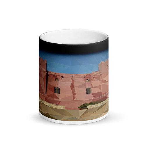 Malta Poly-Art The Red Tower Matte Magic Mug