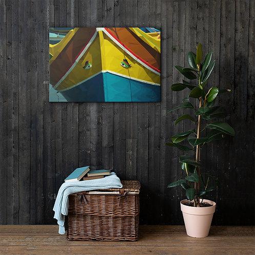 Liam C. Designs - Malta Luzzu Bow (36 x 24)