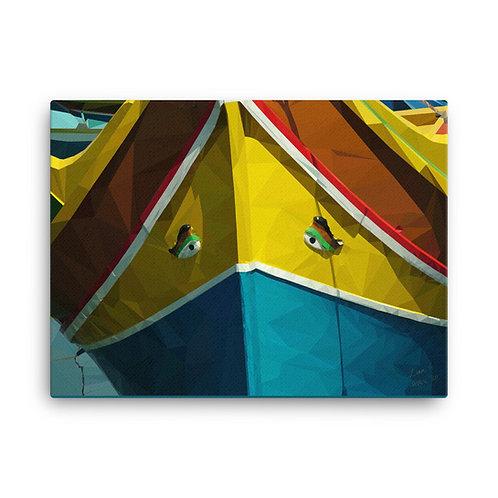 Liam C. Designs - Malta Luzzu Bow (24x18)