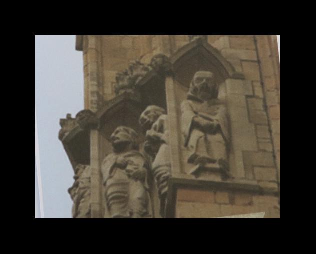 York MInster stonework