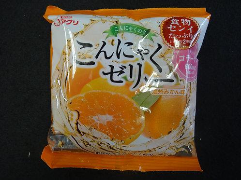 こんにゃくゼリー オレンジ味