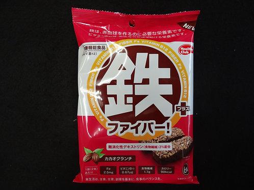 鉄+ファイバー    カカオ味