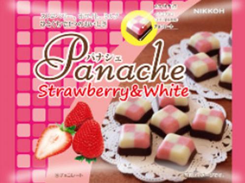 Panache         Strawberry&White