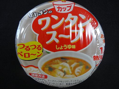 ワンタンスープ    しょうゆ味
