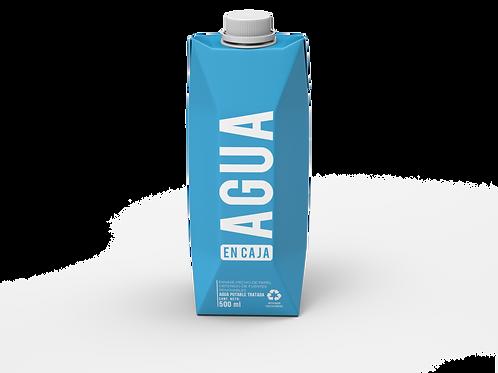 Agua en Caja 500ml - Pack x 18 unidades