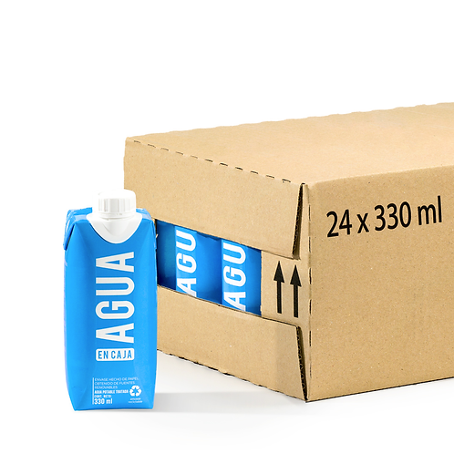 Agua en Caja 330ml - Pack x24