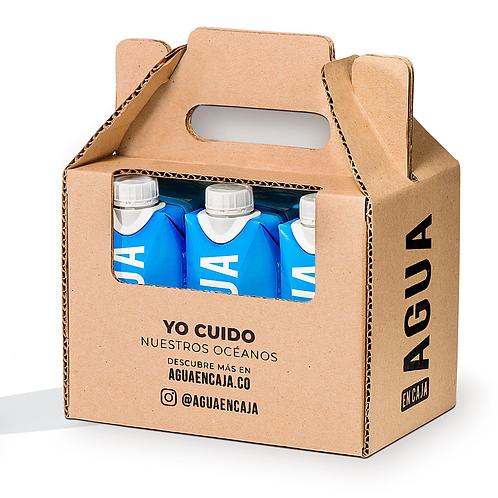 Six Pack Agua en Caja 330ml x 6 unidades