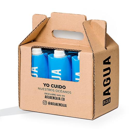 Six Pack Agua en Caja 500ml x 6 unidades