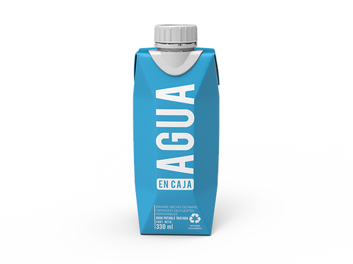 Agua en Caja 330ml - Pack x 24 unidades