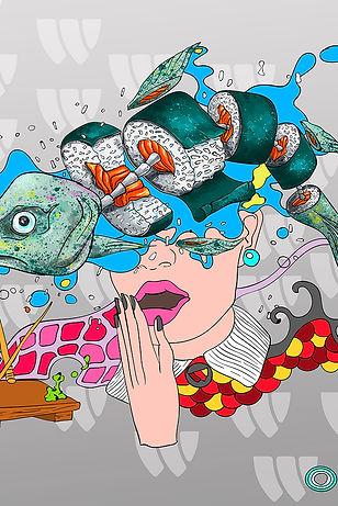 illustration_sushi_WOK_woodigram-sushiwo