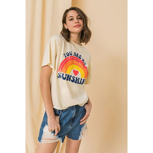 MINERAL WASHED GRAPHIC TEE