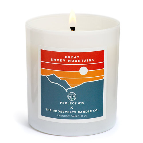 GREAT SMOKY MOUNTAINS CANDLE