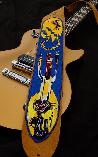 Basquait Guitar Strap