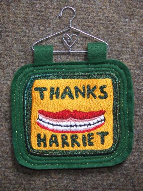 Thanks Harriet